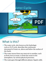 Water Cycle(Present)