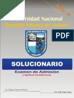 Solucionario UNASAM 2012 - II