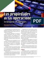 operaciones propiedades
