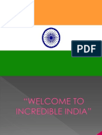 Welcome to Incredible India
