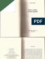 Etica Para Vivir Mejor, Peter Singer, Prefacio