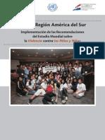 Mapeo Región América del Sur Seguimiento UNVAC