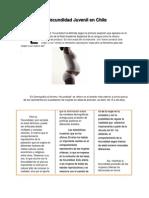 La Fecundidad Juvenil en Chile