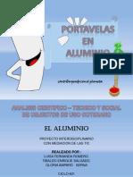 Proyecto de Aula Aluminio GloriaS