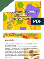Programa Nacional Biblioteca