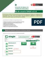 Guia actualizacion SIAGIE 3.3.0