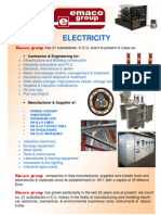 Electricity Catalogue