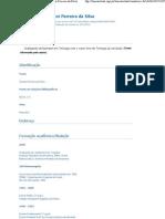 Currículo do Sistema de Currículos Lattes (Jiovanni Ferreira da Silva)