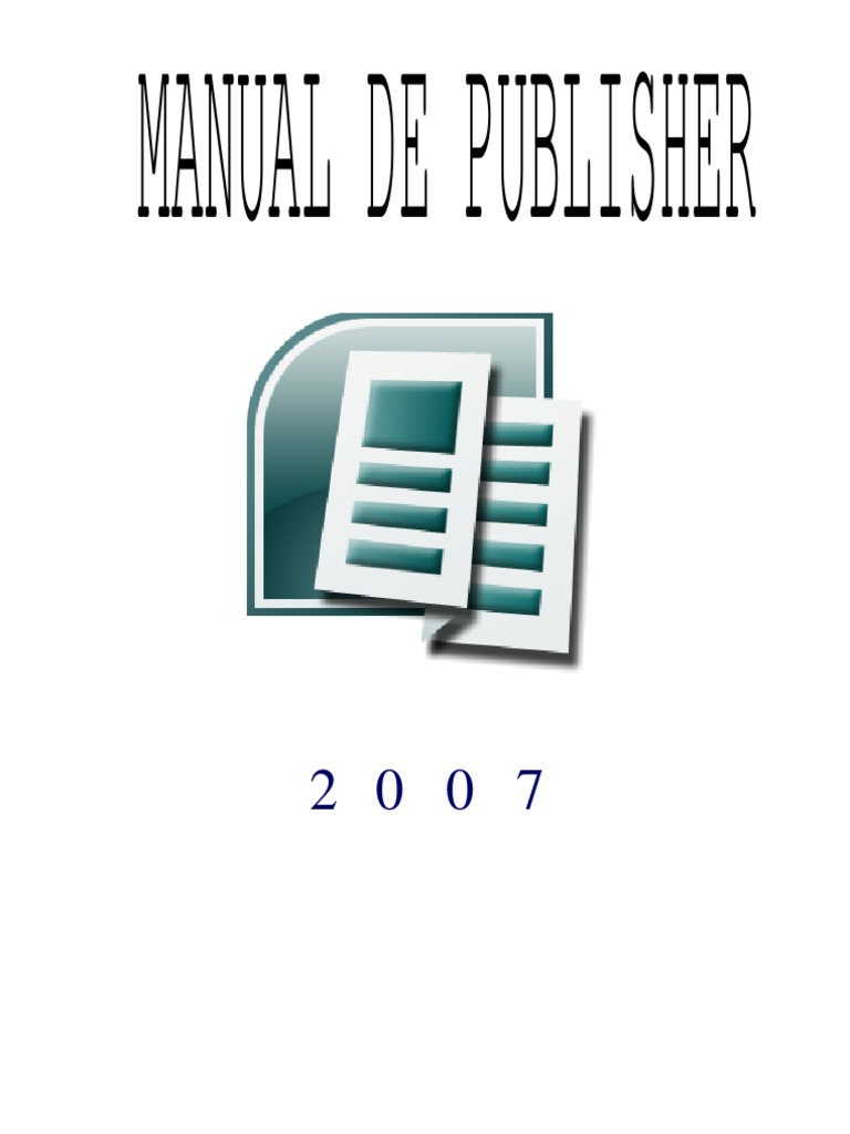 Manual Publisher 3 de Sept