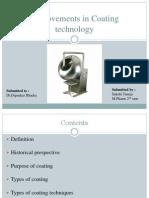 Ppt Coating Technology