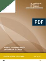 Manual de Organizacion Tipo Enfermeria 30 Camas 30042012