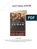 Do RCs Know about the Lost Gospels of 'the betrayer' Judas?