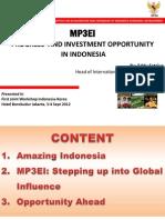 Presentasi Pada 1st Joint Workshop Korea-Indonesia on Industry and Regional Develpoment