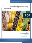 Weekly AgriCommodity Newsletter 03-09-2012