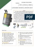 f8414 Zigbee Modem Technical Specification