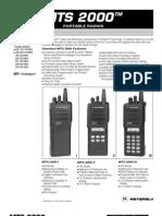MTS2000 Brochure