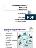 Enhancing Access to Electricity in Rural India