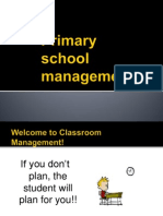 Topic 1-Primary School Management