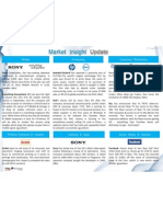 34 Market Insight Update - 27 Aug 2012