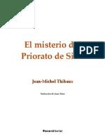 f4c3e0df2 El misterio del Priorato de Sión - Jean-Michel Thibaux