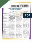 Quezonian Newsletter June 2012