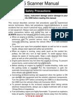 u585 OBD Scanner Manual