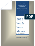 Vegetarian and Vegan Menu with photos 2012