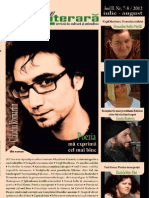 Revista Zona Literara Nr 7 - 8 Iulie - August 2012 Varianta Internet