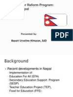 Almacen SSRP a Case of Nepal