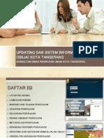 Bahan Presentasi Sistem Informasi Jalan Kota Tangerang