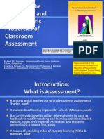 Gonzales and Fuggan Classroom Assessment