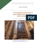 Il pavimento cosmatesco dell'Abbazia di Grottaferrata