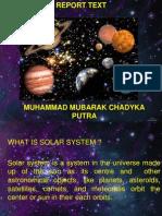 Muh. Mubarak C.p- Tata Surya