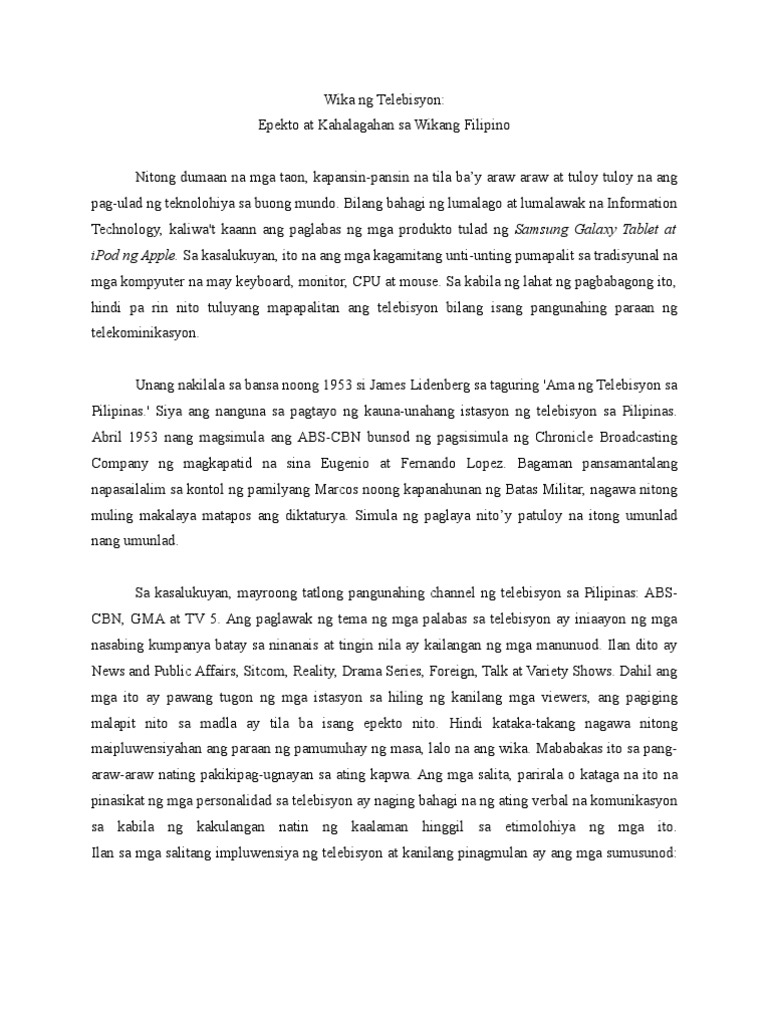 kahalagahan sa asignaturang filipino Kahalagahan ng asignaturang filipino sa kolehiyo 1 republic of the  philippines surigao del sur state university college of.