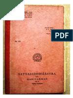 Satyasiddhisastra of Harivarman