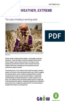 Extreme Weather, Extreme Prices: The costs of feeding a warming world