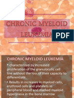 Chronic Myeloid Leukemia REPORT