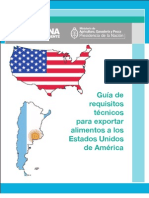 Requisitos Tecnicos Para Exportar a USA