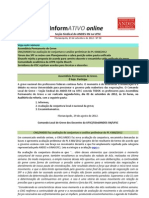 Informativo Online n° 38