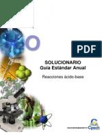 Solucionario Guía Reacciones ácido base