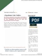 __ «Expediente Cabo Valdés» __ ikerjimenez.com __