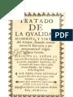 Bezerra_tratado de La Qualidad Mannifiesta Del Mercurio_1649_spagnolo
