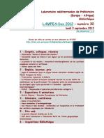 LAMPEA-Doc 2012 – numéro 30 / lundi 3 septembre 2012