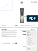 Yale YDM4111 Manual