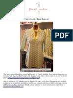 Pins & Needles Tunic Tutorial