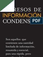 Impresos de información condensada