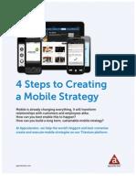 Appcelerator 4Steps Create Mobile Strategy