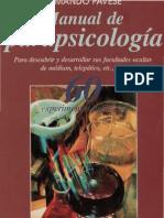 Armando Pavese - Manual de Parapsicología