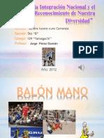BALÓN MANO