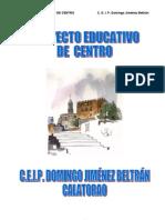 Proyecto Educativo Centro 2010